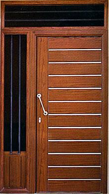 Puertas blindadas aluminios leo cenes de la vega - Puertas de aluminio para exterior fotos ...